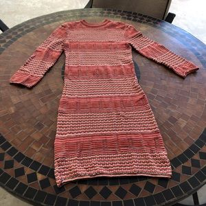 Free People Crew Neck Sweater Dress Large